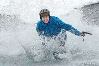 Water skimming at Grand Targhee